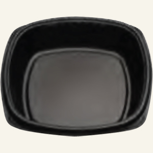 10.25IN FORUM COMP PLATE-BLACK