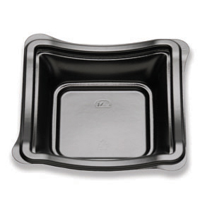 6IN NEW WAVE DEEP PLATE/BOWL BLACK
