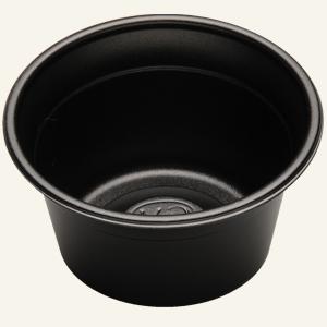 10/12OZ A/P CUP NON CURL BLACK