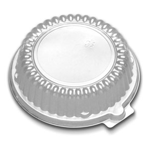 10/12 OZ BOWL LID -CLEAR