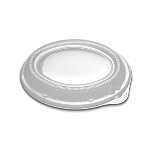 11X8 OVAL PLATTER STACKABLE LID