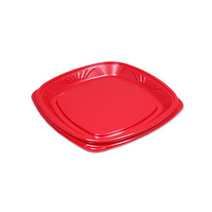 10IN FORUM PLATE- RED