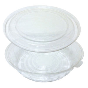 4564 64OZ JUSTFRESH BOWL/DOME 100 SETS