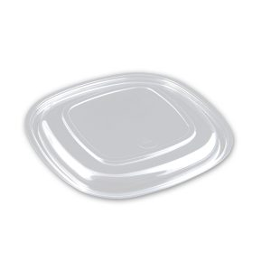 Square Lid Clear PET