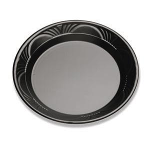 BLACK PEARL 10.25IN PLATE N/C BLACK