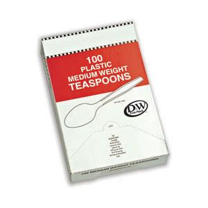 OMEGA TEASPOON WHITE 10/100