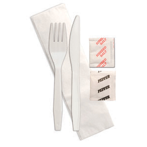 OMEGA FORK,KNIFE S&P NAPKIN