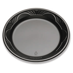 9IN. PLATE N/C-CF BLACK
