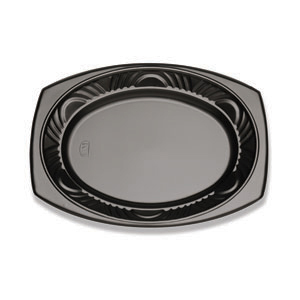 13X10 PLATTER-CF BLACK