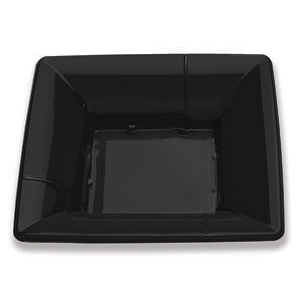 10IN SAVVY MID-DEPTH PLATE BLACK CF
