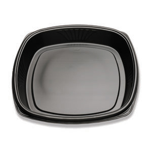 16 IN DEEP FORUM TRAY NON-COMP BLK