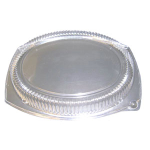 13X10 OVAL STACKABLE PLATTER LID