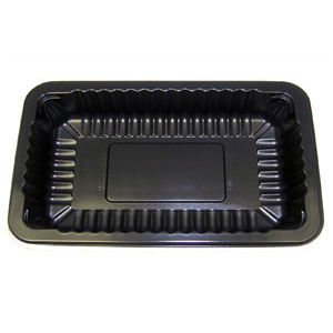 CT 10-2.00 TRAY RIB BLK WOOD PALLET