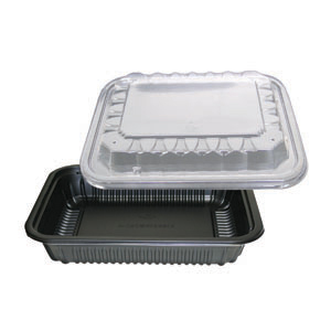 CT-24OZ OBLONG W/VENTED LID COMBO 100 SETS