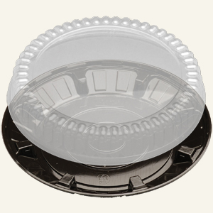 "PET 10"" PIE FLT DM/BLK BS 5147 100 SETS"