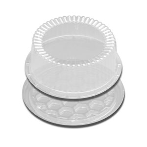"DSPLYCAKE CLEAR 7"" 1-2LAYER 180PK"