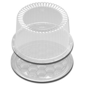 "DSPLAYCAKE CLEAR 7"" 2-3LAYER 180PK"