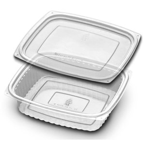 VP 24 OZ PLA W/ FLAT LID 4293 250 SETS