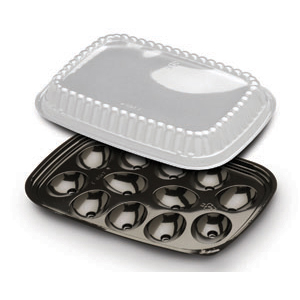 12 EGG BLK TRAY W/DM 250 SETS