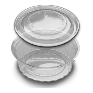 4581 24OZ SHALLOW  TUB W/DOME 150 SETS