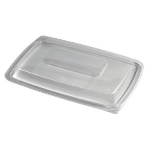 "ENTREE 11.5"" OBLONG LID VENTED"