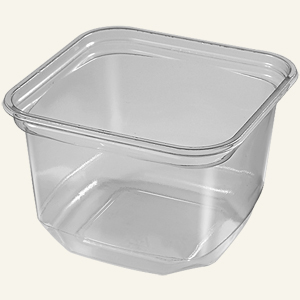 Square Deli 16 Oz PLA