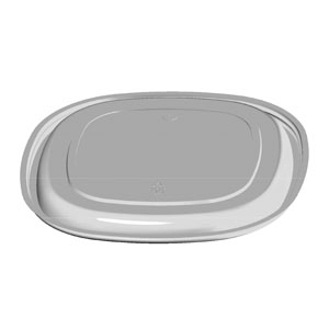 "SQ 11"" 32 oz Fruit Platter Lid"
