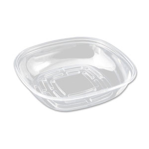 "Square 9"" Bowl Clear PLA"